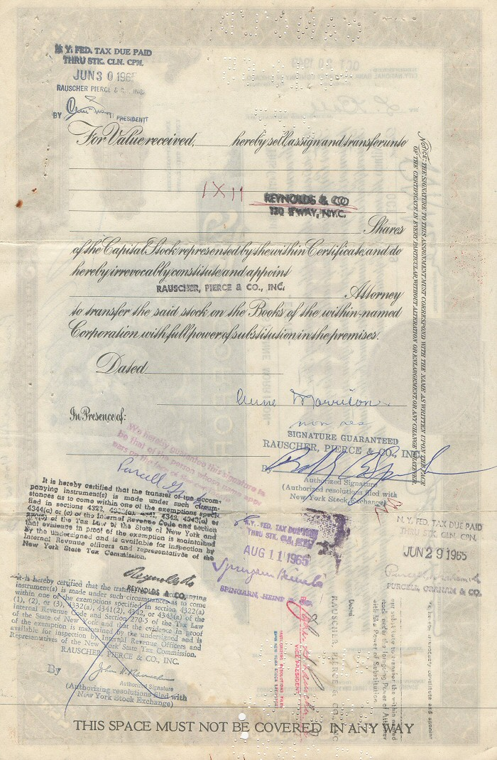 how to get paper stock certificates